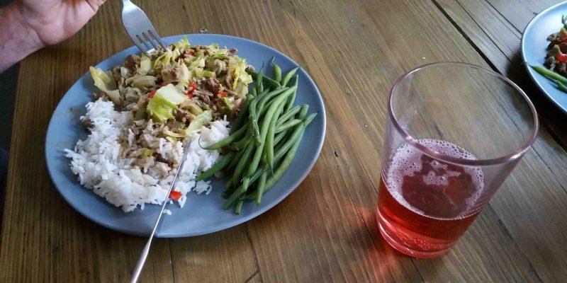 Lichtgidsen Glastonbury heerlijke maaltijden