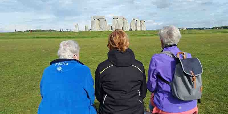 Lichtgidsen Glastonbury Stonehenge Even bijkomen