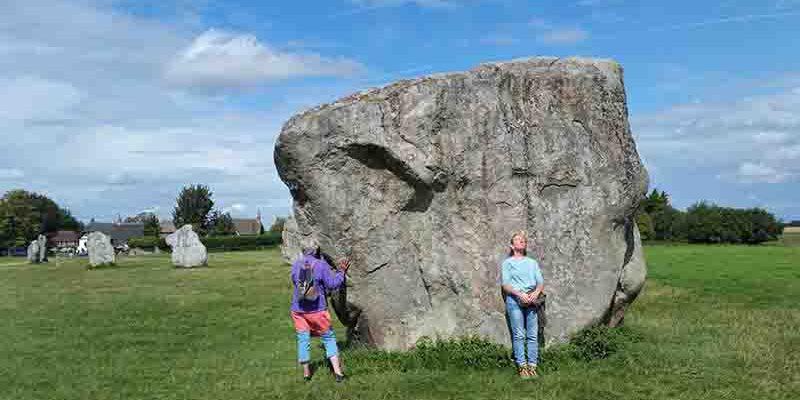 Lichtgidsen Glastonbury Avebury magische stenen
